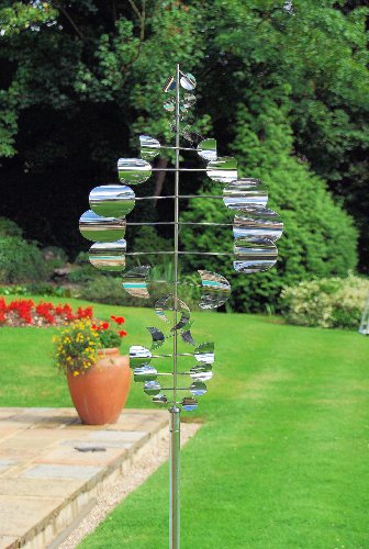 Home2Garden - Stainless Steel Wind Sailor Garden Sculpture