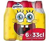 Lanjarón Agua Mineral con Tapón Infantil - Pack 6 x 33cl
