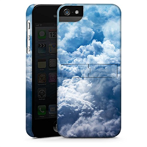 Apple iPhone X Silikon Hülle Case Schutzhülle Wolken Himmel Landschaft Premium Case StandUp