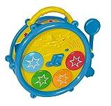 Simba Play&Learn- B/O Baby Musical Drum, Multi Color