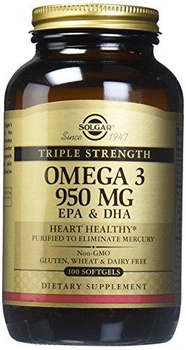 Solgar TRIPLE STRENGTH Omega-3 – EPA & DHA 2800mg – 100 Softgels