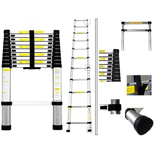Todeco - Plegable - Carga máxima: 150 kg - Estándar/Certificación: EN131 - 3,2 Metro(s)