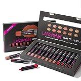 WSX Beauty 12 pcs mat rouge à lèvres mis...
