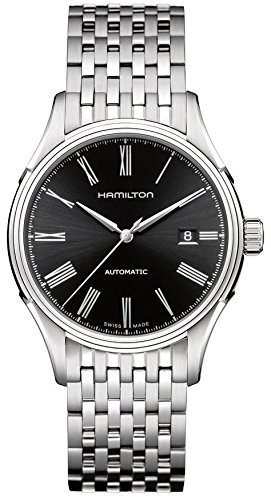 Hamilton Valiant Men's Automatic Watch with Silver Dial Analogue Display and Silver Stainless Steel Bracelet H39515134