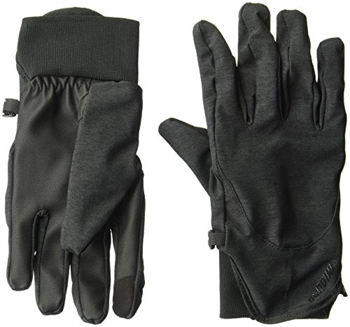 Gordini Feder Handschuh, damen, schwarz (Handschuh Gordini-schwarz)