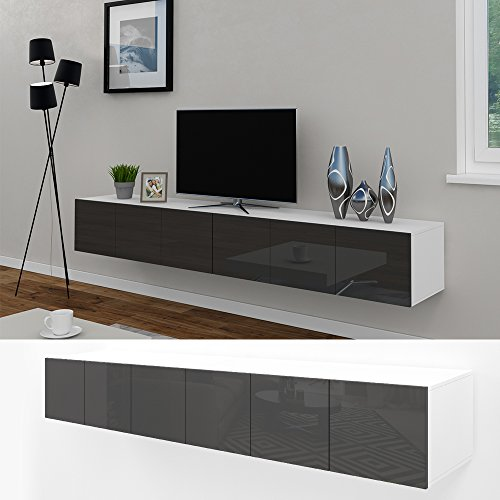 vicco tv lowboard sideboard wandschrank fernsehschrank. Black Bedroom Furniture Sets. Home Design Ideas
