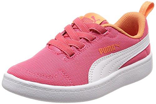 Scarpe Bambino PUMA COURTFLEX Mesh PS 364277 (28-11 Paradise Pink-PUMA White)