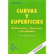 Curvas y superficies - definiciones, teoremas y resultados