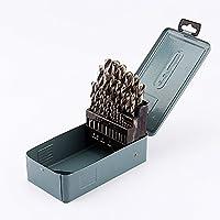 Juego de brocas HSS, 25 Piezas Broca para Metales Profesional 1-13mm con Caja