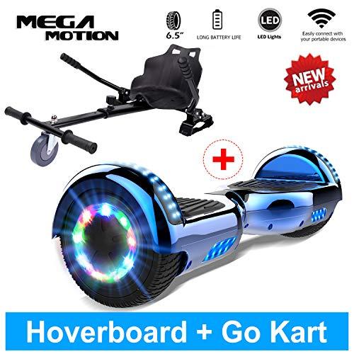 "Mega Motion Hoverboard Self Balance Scooter Elettrico 6.5\"" Elettrico T580 (Grey)"