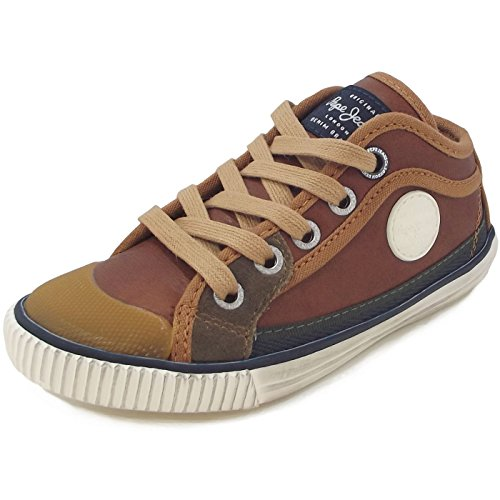 Pepe Jeans, Sneaker bambine Tabakbraun (Tobacco)