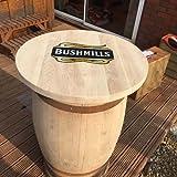 Eiche massiv recycelten Whisky Barrel Bushmills Terrasse Tisch