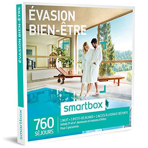 SMARTBOX - Coffret Cadeau - Evasion Bien-Etre - 380 Sejours : Maisons d'hotes, Hotels...