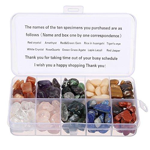 cristallo-di-quarzo-charminer-223g-10-stone-mix-red-crystalamethyst-red-green-della-pietra-preziosa-