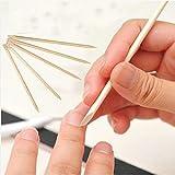 Sweet Pea 12 pcs Pedicure Manicure Tool 11cm Wood Stick Cuticle Pusher Remover