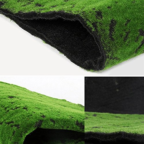 LIXIONG Prato, verde parete piante verde muschio, erba sintetica vetrina scena verde muschio finto pad piedi antiscivolo ( dimensioni : C-70*50cm )