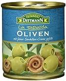 Feinkost Dittmann Oliven gefüllt mit Sardellenpaste, 8er Pack (8 x 200 g)