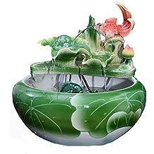 anlkyiqi china viento agua cermica saln adornos suerte vista peces tanque acuario de