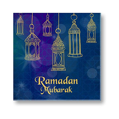 Eid gifts, Ramadan Eid Mubarak Canvas Painting Wall Decor Art Frame 16...