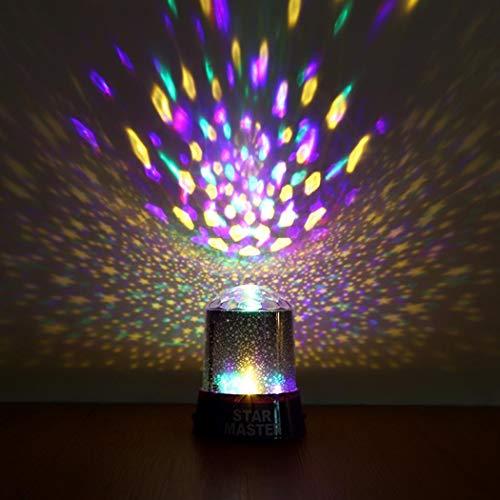 (Gfone LED Nachtlicht Projektor Kinder Lampe Sternenhimmel Baby Nachtlicht für Zimmer Geburtstag Party Festival Hochzeit Dekoration oder Weihnachten Geschenk(Typ-1))