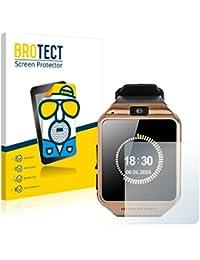 Gearmax Smartwatch DZ09 Protector Pantalla Mate [2 Pack] Pelicula Protectora