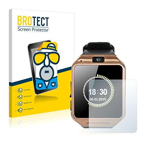 2x-brotect-matte-protector-pantalla-para-gearmax-smartwatch-dz09-protector-mate-pelicula-antireflejo