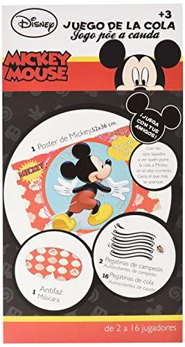 Mickey Mouse-Pin der Schwanz auf die Clubhouse Spiel (verbetena 014000288) (Maske Der Die Maus Und)
