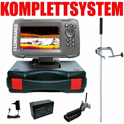 Lowrance Echolot GPS Portabel Master - Hook2 5 SplitShot HDI Chirp Combo GPS Lowrance Combo Gps