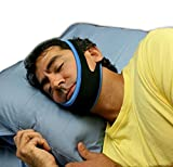 Pro11 wellbeing Stop Snoring Sleep Apnea Chin Strap - Anti Snore Solution for Good Morning with sleep booklet by Pro11 Wellbeing