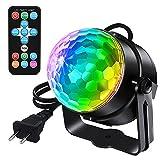 LED Party Lampe RGB Discokugel Strobe Licht DJ Beleuchtung Karaoko