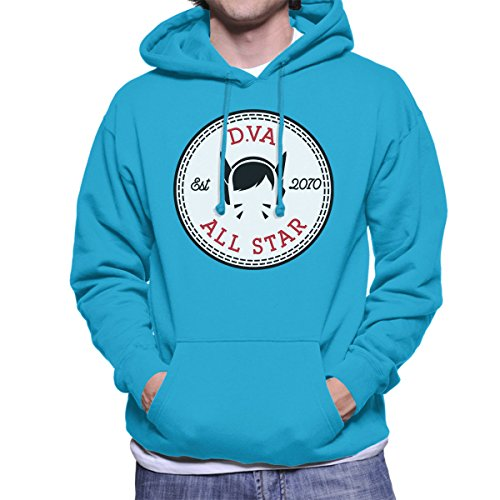 D VA Overwatch All Star Converse Men's Hooded Sweatshirt