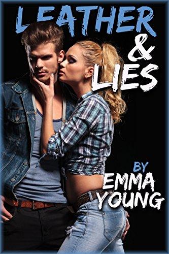 Leather & Lies (New Adult MC Romance) (English Edition) -