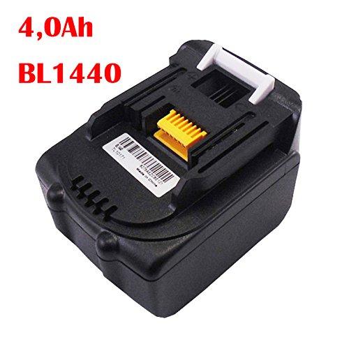 Preisvergleich Produktbild Ersetzen Akku für Makita BL1430 Li 14,4 V, 4,0 Ah, 195444-8 BL1430 BL1415