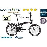 Dahon mu Uno Shadow bicicleta plegable de 22zoll de 10.9 kg
