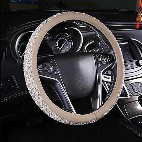 Universale anti slittamento respirabile del ghiaccio del tessuto di seta Car Copertura Volante 38cm / 15