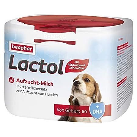 Beaphar Lactol Aufzucht-Milch 250 g, vollwertiger Muttermilchersatz für Hundewelpen von Geburt an