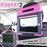 Best Airplane Headrests - WITH OR WITHOUT CASE. iPADKET2 Automobile Headrest Mount Review