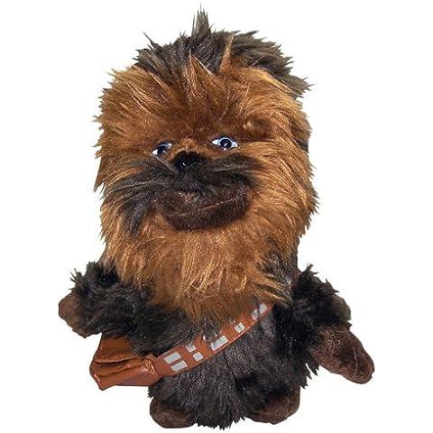 Joy Toy Star Wars - Peluche (20cm), diseño de Chewbacca - Peluche Chewbacca (15cm)