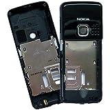 Nokia 6300 6300i original Mittel Gehäuse schwarz glänzend (ohne USB-Abdeckung)