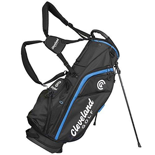 Cleveland 12102361Sac trépied de Golf, Homme, Noir/Bleu, Taille Unique