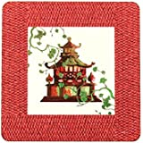 Bussani Pagode 2 Lot de 6 sets de table rectangulaires