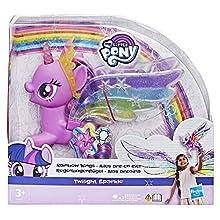 My Little Pony - Twilight Sparkle Ali Arcobaleno (con luci e ali mobili)