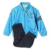 adidas Baby Trainingsanzug Messi, Blau/Schwarz, 80, AB6997