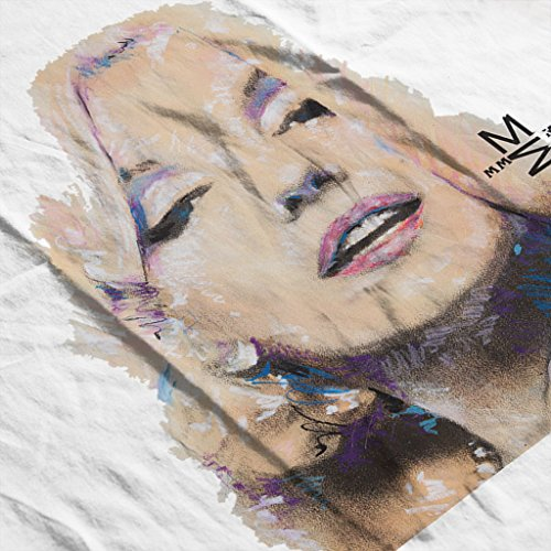 Sidney Maurer Marilyn Monroe Official Womens Hooded Sweatshirt white