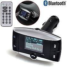 Reproductor Transmisor Lector MP3 con Manos Libres Bluetooth FM para coche 2550_ONOG