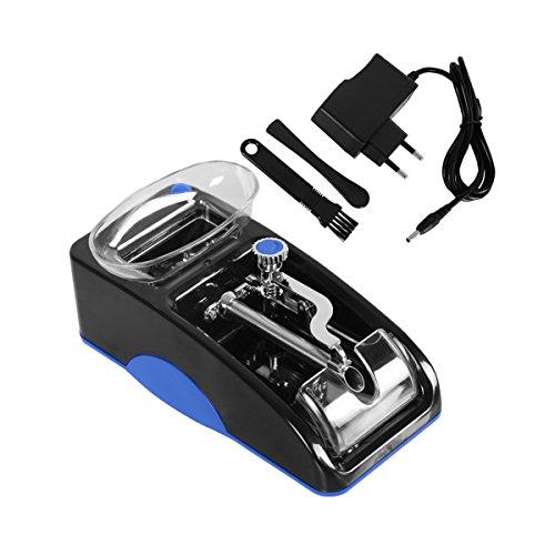 Tubeuse Électrique Rouleuse electrique Machine à Cigarettes Tuber Classic Cadeau Noël Anniversaire pour Homme Père(Bleu)
