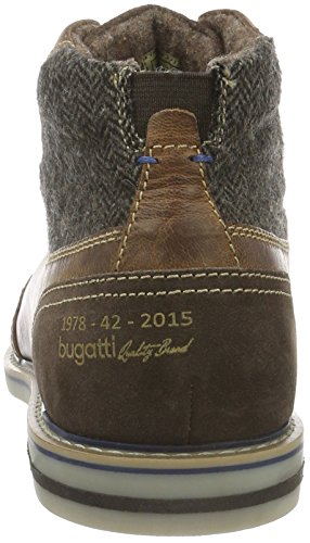 Bugatti 311169303269, Bottes Desert courtes, doublure froide homme Marron (Cognac/Braun 6360)