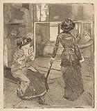 Berkin Arts Mary Cassatt Giclée Leinwand Prints Gemälde