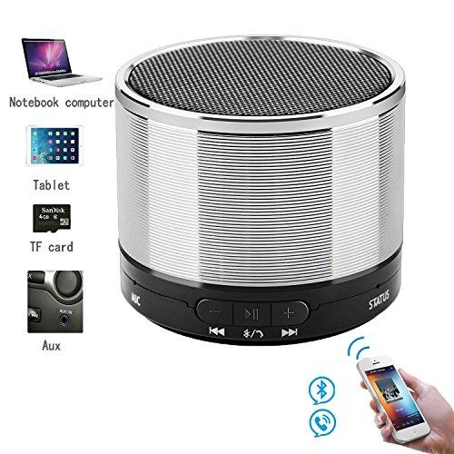 Wo you te Mini Portable Bluetooth Lautsprecher Mit Super Bass Speakerphone 3,5 mm Jack Wireless Lautsprecherund für Iphone, Ipad, PC