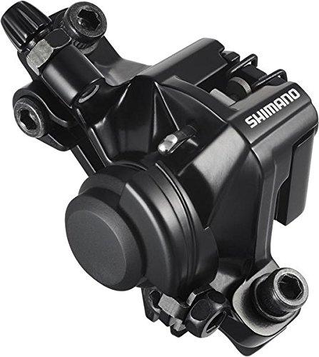 SHIMANO BR-M375, Pinza Freno a Disco Meccanica Unisex Adulto, Nero, Posteriore